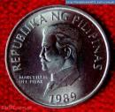 Old Philippine Coin ( Uncirculated 50c Flora and Fauna Series )