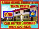 Rent To Own House and Lot for Sale Sanja Mayor Subdivision Tanza