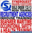 Safety. MOSH Training. Maritime OSH. Inhouse. Recruitment Agency