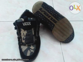 Nike Football Shoes And Vans Camouflage Shoes