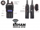 BAOFENG UV-82 Two Way Radio Dual PTT Dual Band Free Shipping