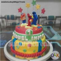 Elmo Theme customized Cake