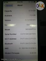 Iphone 5 White 32gb Globe Lock